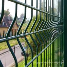Green 3D Mesh Panel Fence
