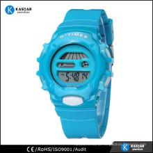 unique digital wrist watch with designed logo