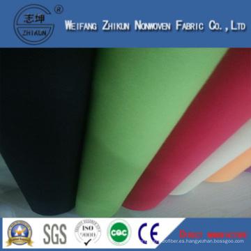 Tela no tejida PP Spunbond de Marhe Shopping Handbags (verde y blanco)