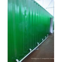 Bâtiment modulaire / Bâtiment préfabriqué (shs-mc-ablution020)