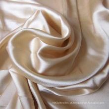 Tecidos de seda Charmeuse com tingimento acabamento
