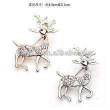 Novo estilo Deer em forma de pin broche
