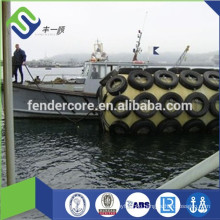 Foam Filled Rubber Fender with material of EVA and Polyurea