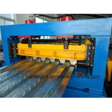 Máquina formadora de rolos a frio de metal para piso de alta qualidade