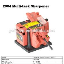 70w poder Multi Purpose Sharpening Machine Bits de broca Tesoura de faca Lâminas de escarificador Electric Planer Blade Sharpener Grinder