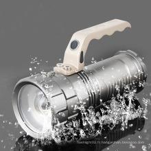 3PC 18650 Batteries Rechargerable LED Tactical Flashlight