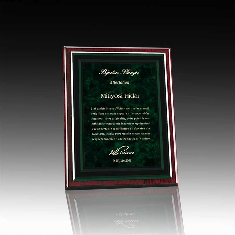 Acrylic Plaques Certificate Plaque Custom Awards And Trophies