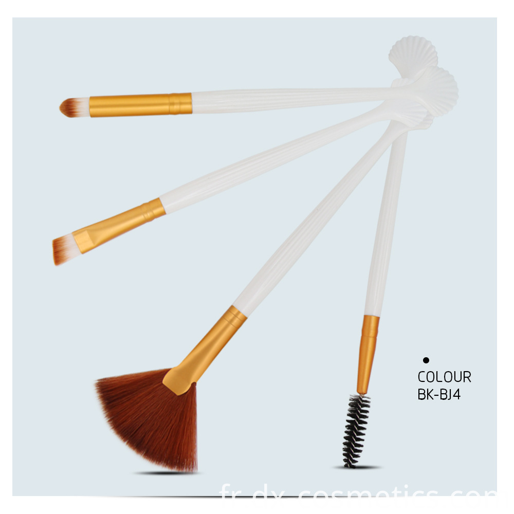 4 Pieces Makeup Brushes Sets 7
