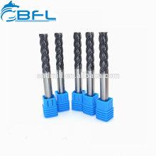 BFL Hartmetall-Flachschaftfräser, Vollhartmetall-Rundfräser
