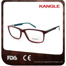 Unisex shape hot seller acetate optical frames and eyeglasses eyewear