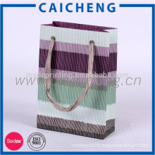 Cosmetic paper bag/clothe packaging paper bag/gift paper bag