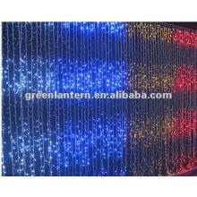led waterfall curtain lights