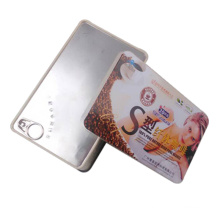 Rectangle Slimming Coffee Package Tin Box