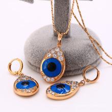Conception 62210-Xuping de style de fantaisie pour l'ensemble de bijoux de femme avec l'or 18K plaqué