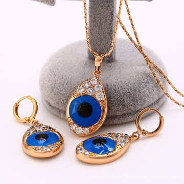 62210-Xuping Fancy Style Design For Woman Jewelry Set with 18K Gold Plated