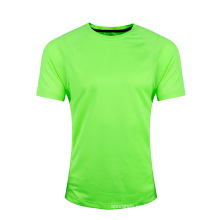 Camiseta en blanco al por mayor barata del precio del OEM para su propio diseño