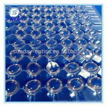 Lentilles hémisphériques saphir diamètre 3mm petites lentilles