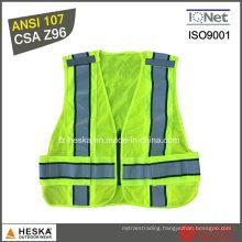 Safety Work Mesh Reflective High Visibility Vest