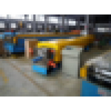 Downspout / downpipe rodillo que forma la máquina venta caliente