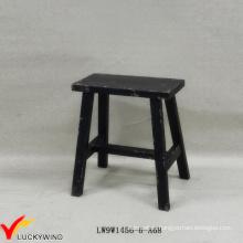 Chinese Style Bench Stool Handmade Wood Antique Rectangular Stool