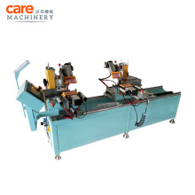 Double Head Automatic Aluminum Water Slot Milling Machine For Air Pressure Balance Grooves