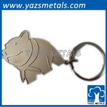 brass keychain bottle opener /fashion keychain bottle opener metal keychains