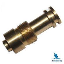 Custom CNC Brass Turned Precision Valve Fittings