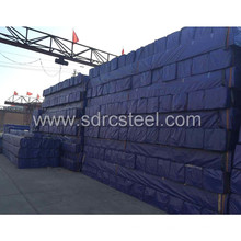 Tuyau d'acier recuit noir carré Q195 de 15 mm * 15 mm