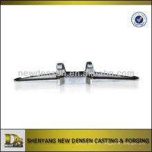 Núcleo de hierro fundido de arena o dientes de hierro para la pista de goma