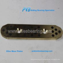 oiles gun metal bush, grafite C95400 placas esféricas rolamento, 2960.71, 2960.86 fibro bush