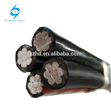 ABC-Niederspannungskabel LV-Kabel Flächengebündeltes Kabel
