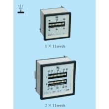 Compteur de fréquence avec types de roseaux