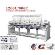 maya embroidery machine 6 head Wonyo embroidery machine WY1206C