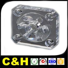 Usinage par pièce de fraisage CNC Peinture par matériau Acrylique / ABS / PTFE / Nylon / Caoutchouc
