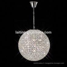 Lumières de Noël d'éclairage de lustre en cristal de conception moderne de 2018 allumant