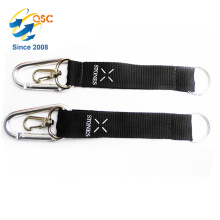 Carabiner Keychain Detachable Keychain with Two-Piece Quick Slide Release Magnetic Clasp System