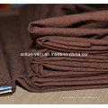 Tissu floqué de cuir collé avec de l'or pour le sofa de meubles
