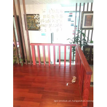 Um piso agradável cheiro Balsamo (Santos Mahogany) Pavimentação