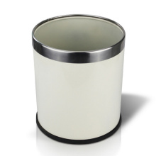Round Open Top Iron Waste Bin (YW0094)