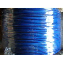 Fio colorido PVC / ferro revestido de plástico