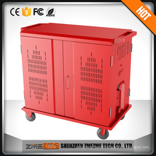 charging trolley cabinet tablet charging cart factory