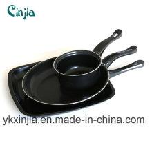 Kitchenware Carbon Steel Frying Pan, Square Pan, Milk Pot, Cookware Set