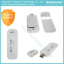 Terminal do Internet 4G USB de 4G sem fio com a vara de Lte USB da placa de rede e o modem 4G