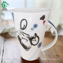 Food contact safe popular ceramic tea cafe cups mug