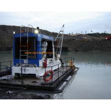 Pompe de dragage de rivière Extraction de sable avec moteur diesel CE approuvé