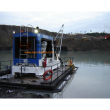River Dredge Pump Extracting Sand with Diesel Engine CE Approved