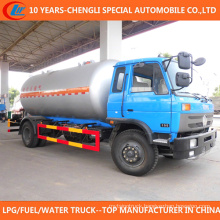 Sino 10cbm 15cbm 6 Wheels LPG Bobtail Truck for Sale