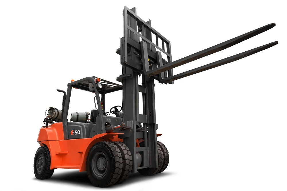Forklift With Front Double Tyre