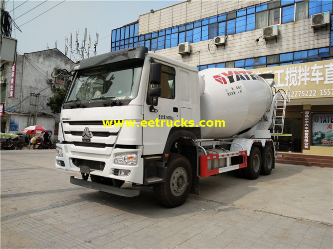 380hp 5ton Cement Mixer Trucks