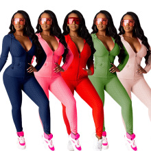 C7225 New Women Yoga Sets Fitness Fall Sweaters Clothing Plus Size Workout 2 Piece Jogger Tracksuits Sets For Women